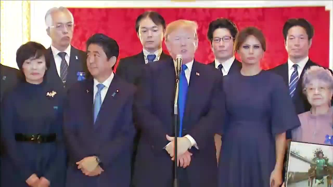 Trump Meets Families Of Japanese Citizens Kidnapped By North Koreans
