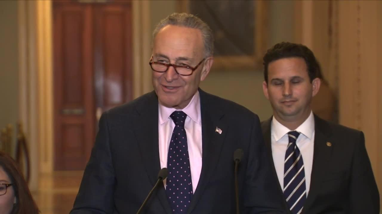 Schumer Says He Is 'Very Optimistic' Legislation On 'Dreamers' Wil_...