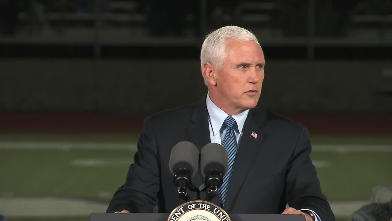 Pence: 'If The Attacker'S Desire Was To Silence Their Testimony Of_...