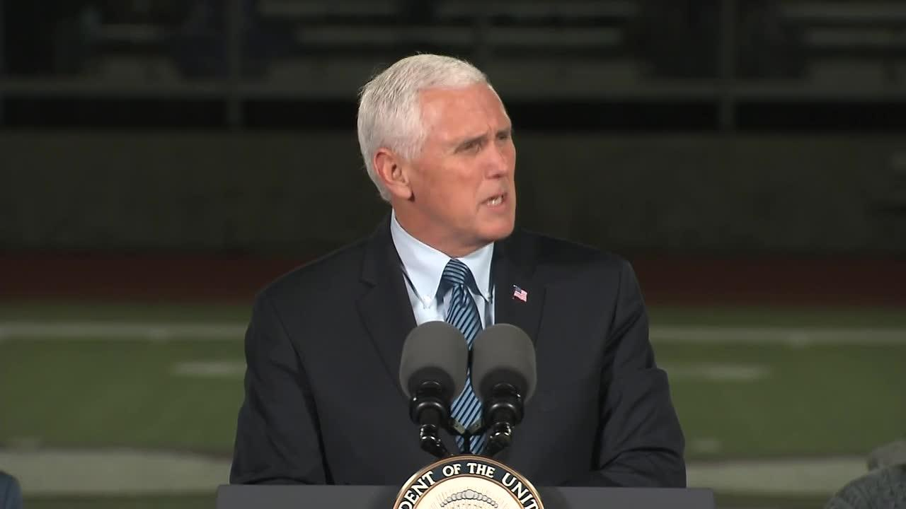 'Words Fail When Saints And Heroes Fall:' Pence Addresses Prayer S_...