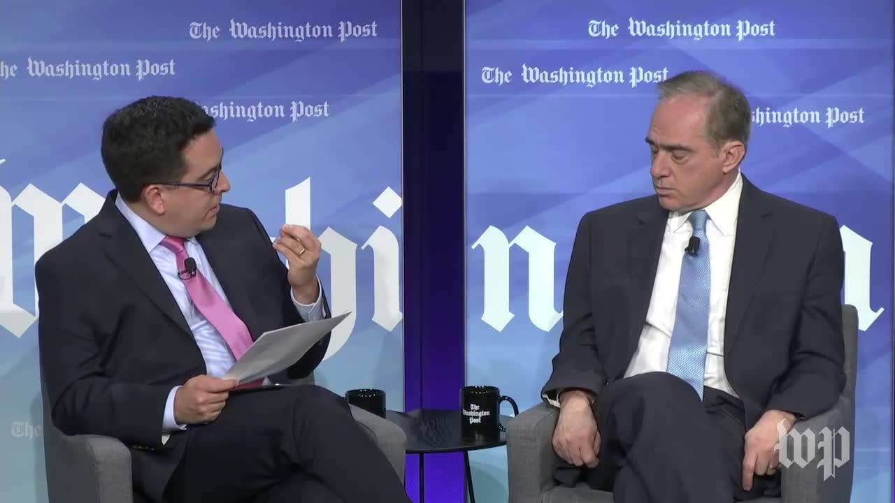 Veterans Affairs Secretary David Shulkin On His 'Candid Relationsh_...