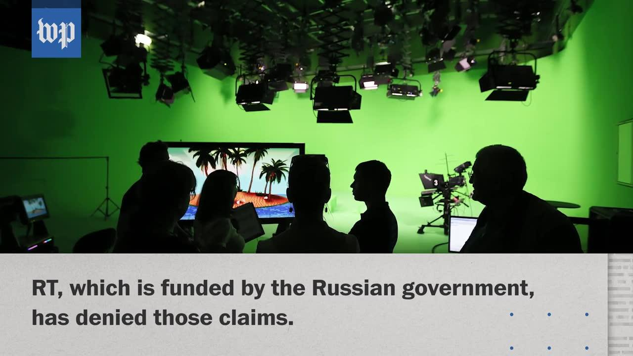 Russia: Rt Says U.S. Forcing It To File As Foreign Agent