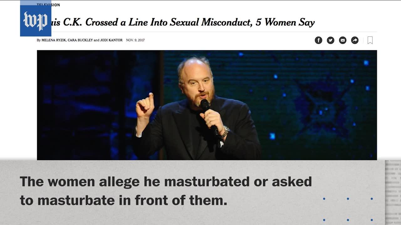 Louis C.K. Accused Of Sexual Misconduct In New York Times Story