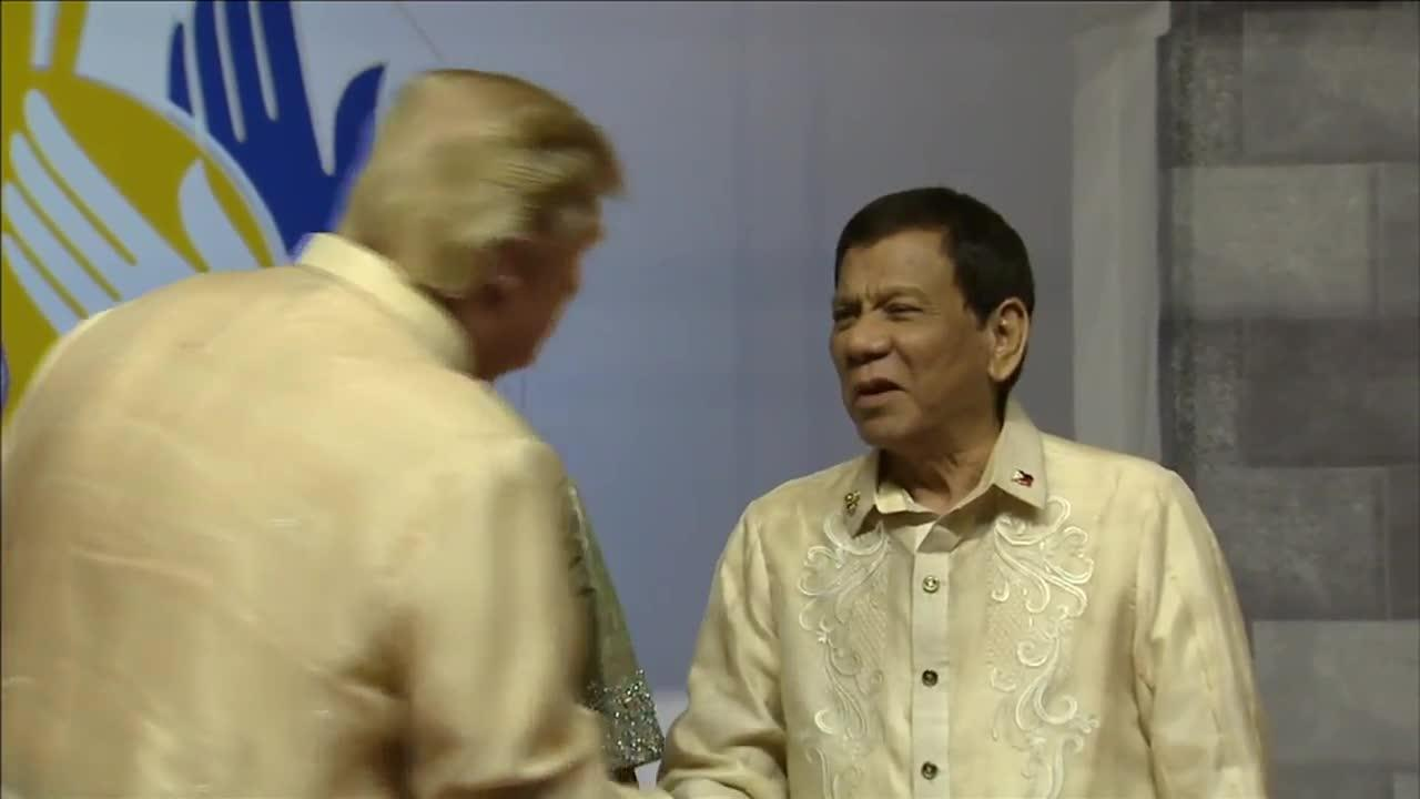 Trump Meets With Duterte At Asean Gala Event