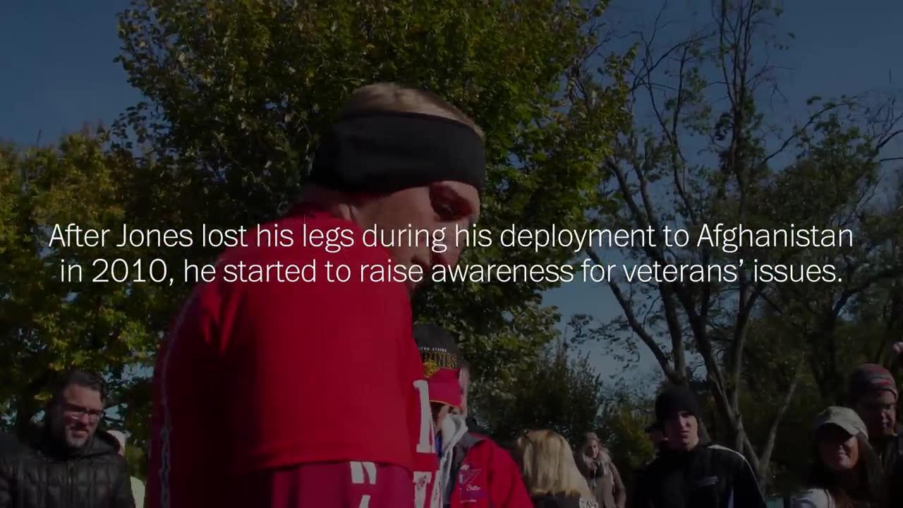 Veteran Who Lost Both Legs Runs 31 Marathons In 31 Days