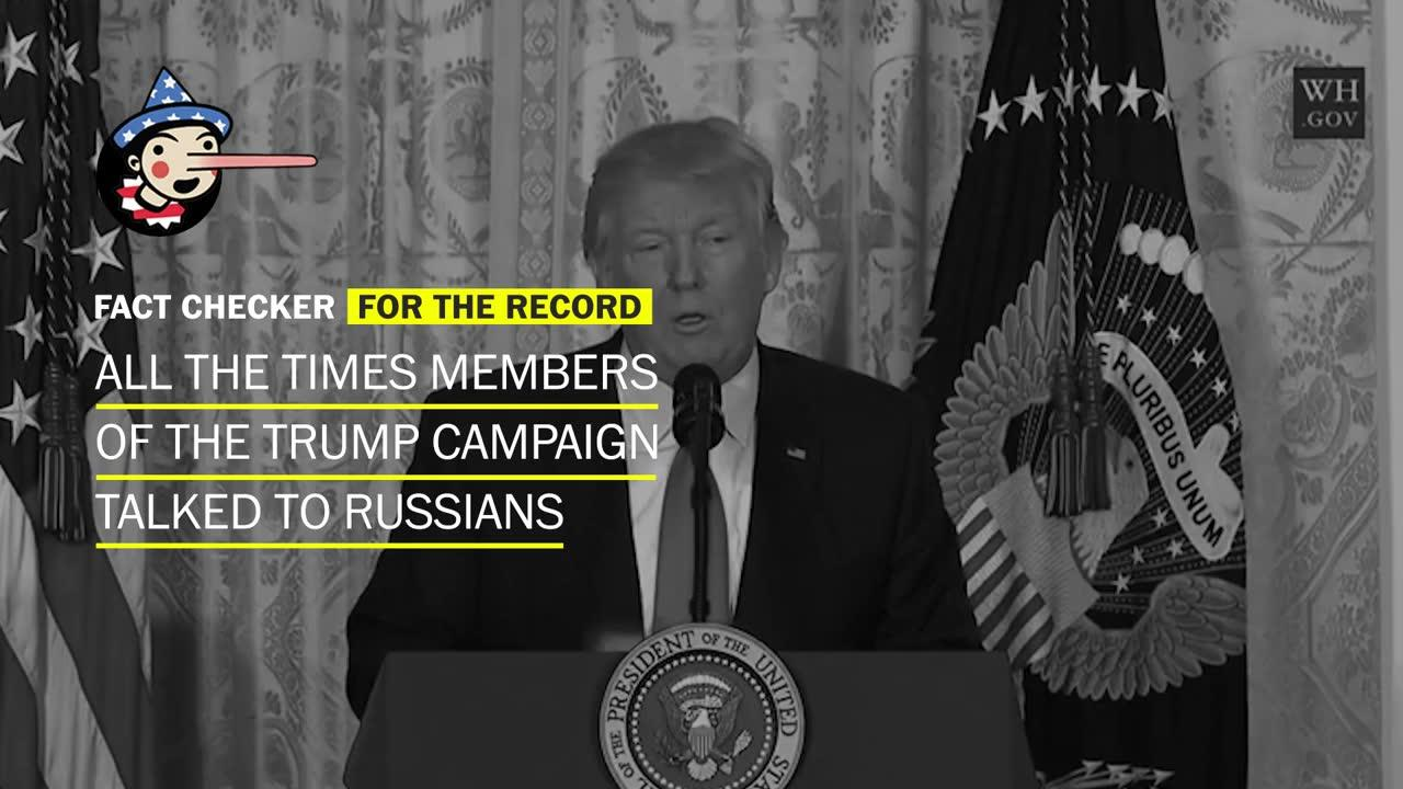 All The Times Members Of The Trump Campaign Interacted With Russians