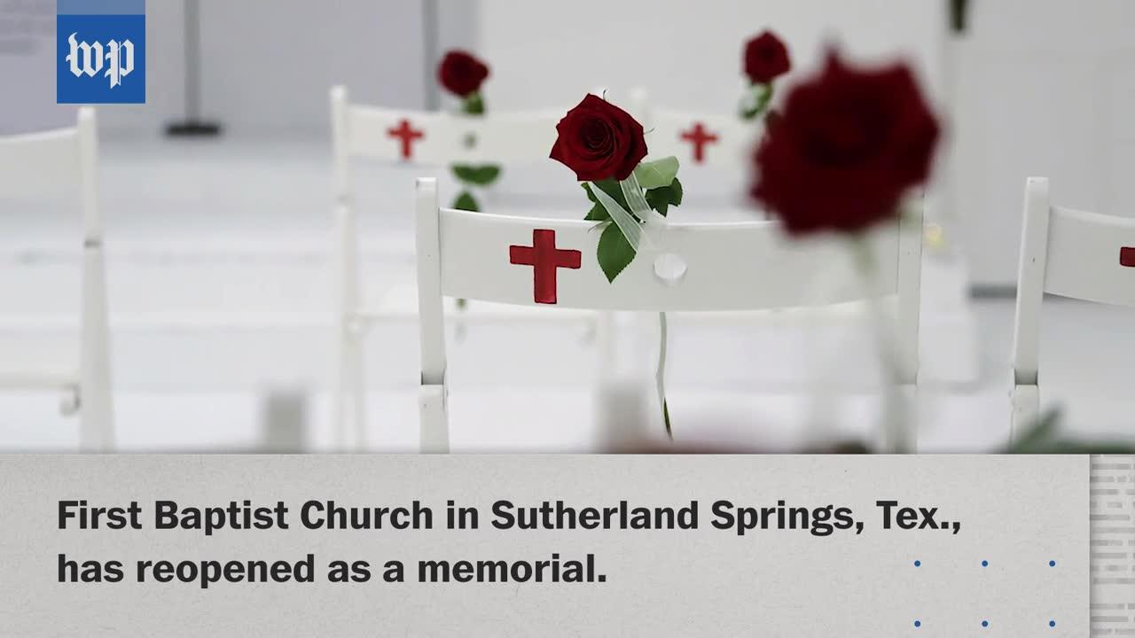 Texas Church Reopens As A Memorial