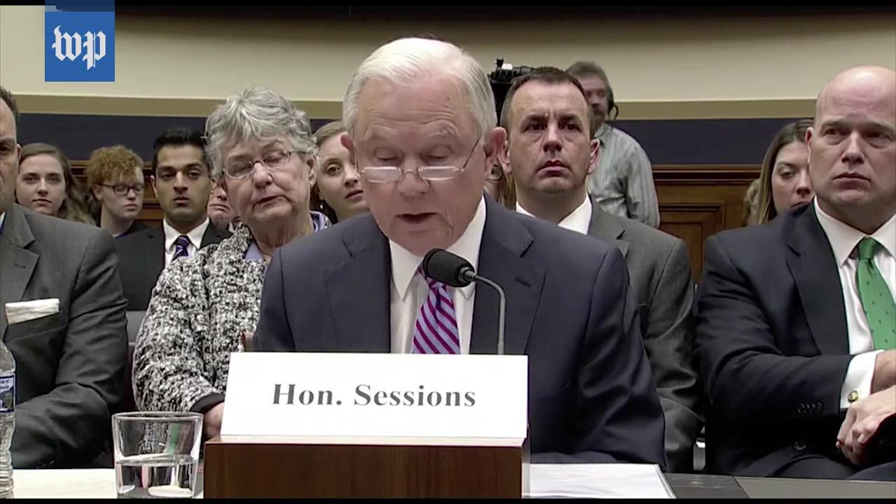 Sessions'S House Judiciary Testimony, In Three Minutes