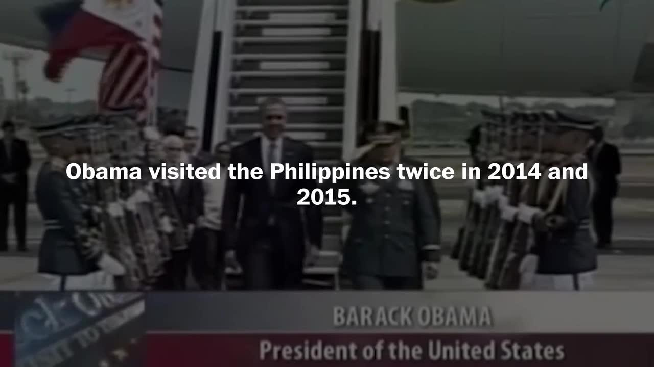 Fact Check: Did Obama 'Never Get To Land' In The Philippines, As T_...