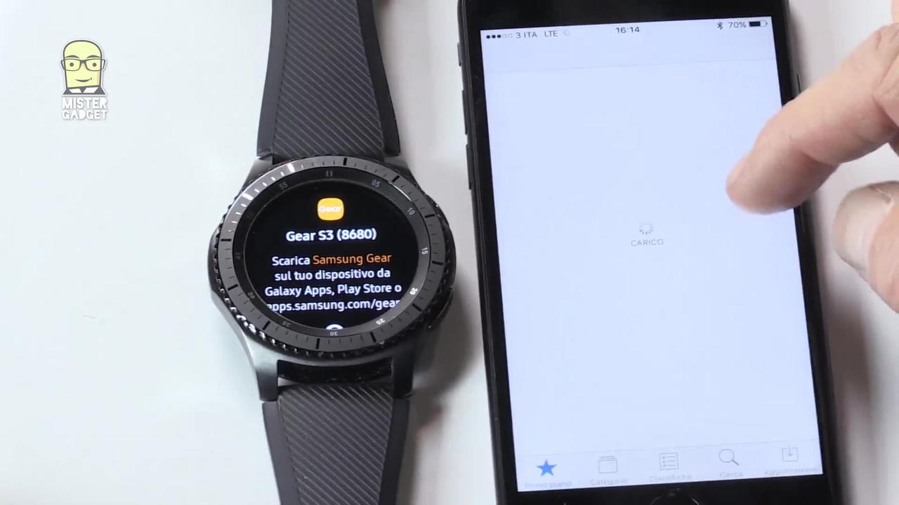 Samsung Gear S3 - novita'