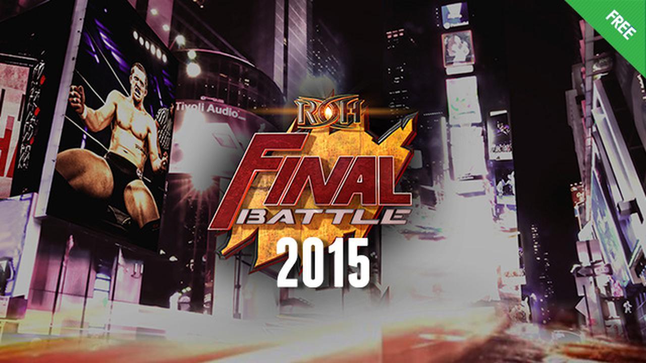 ROH Final Battle 2015