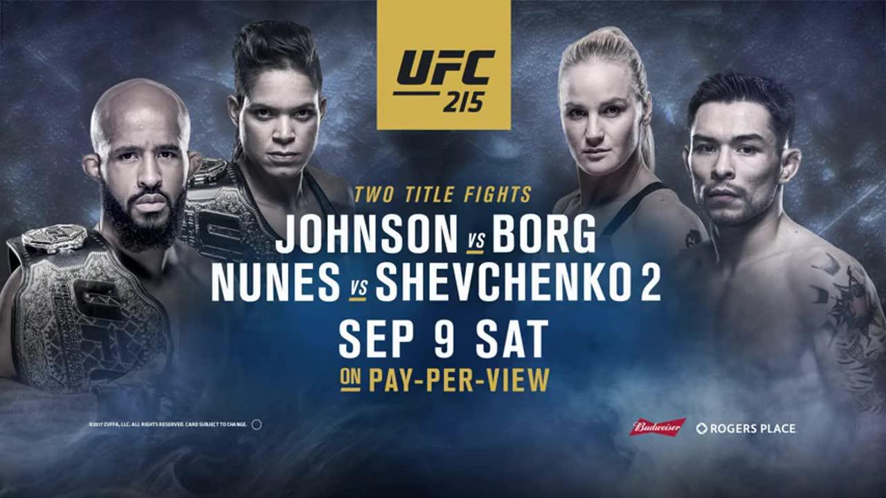 UFC Countdown Johnson Vs Borg