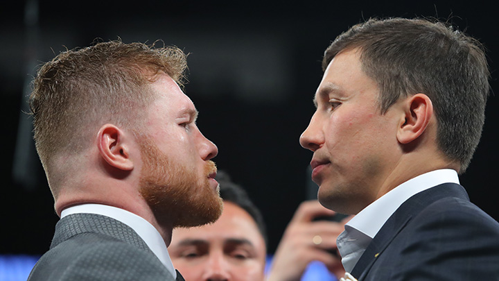 Canelo Alvarez vs. Gennady GGG Golovkin: Weigh-In