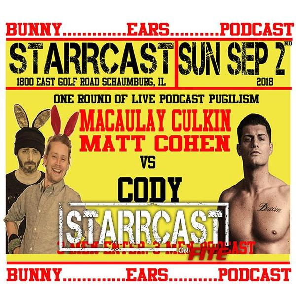 Bunny Ears Podcast w/ Macaulay Culkin & Matt Cohen, featuring Cody